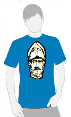 Pericles - T Shirt by Tom Leedy