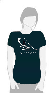 Coldwater Waverator - T Shirt by Tom Leedy