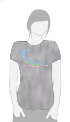 Moonlight Wave - T Shirt by Tom Leedy